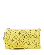 MIMI WALLET YELLOW SMOOTH