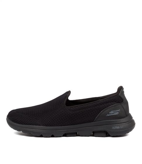 skechers go walk black