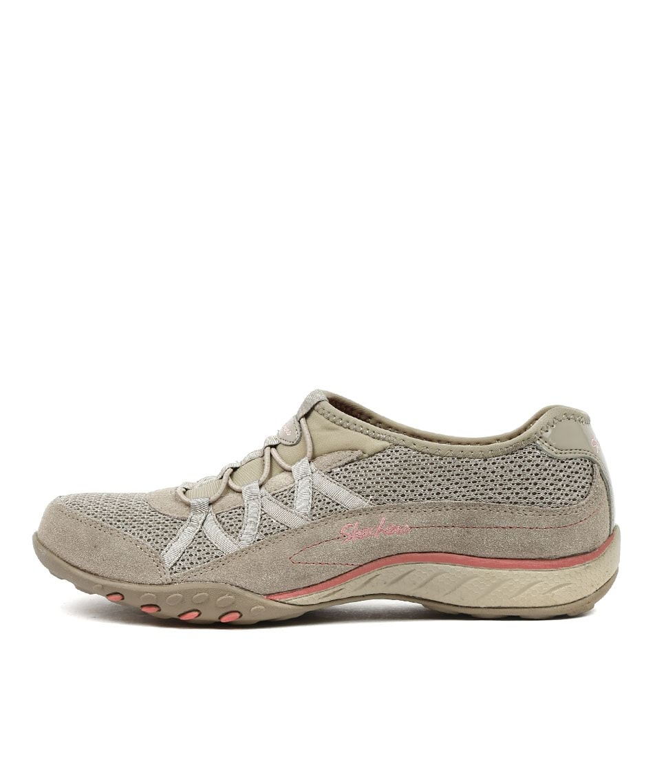 e60835fe3496b 22463 BREATHE EASY RELAXATION TAUPE FABRIC by SKECHERS - at Williams