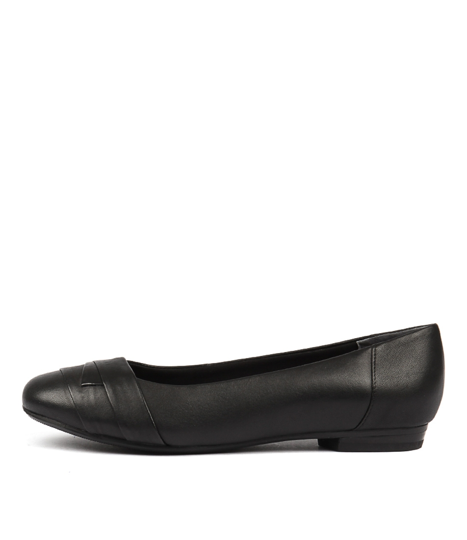 2c3c5524660 CLAUDEA BLACK LEATHER by SUPERSOFT - at Williams