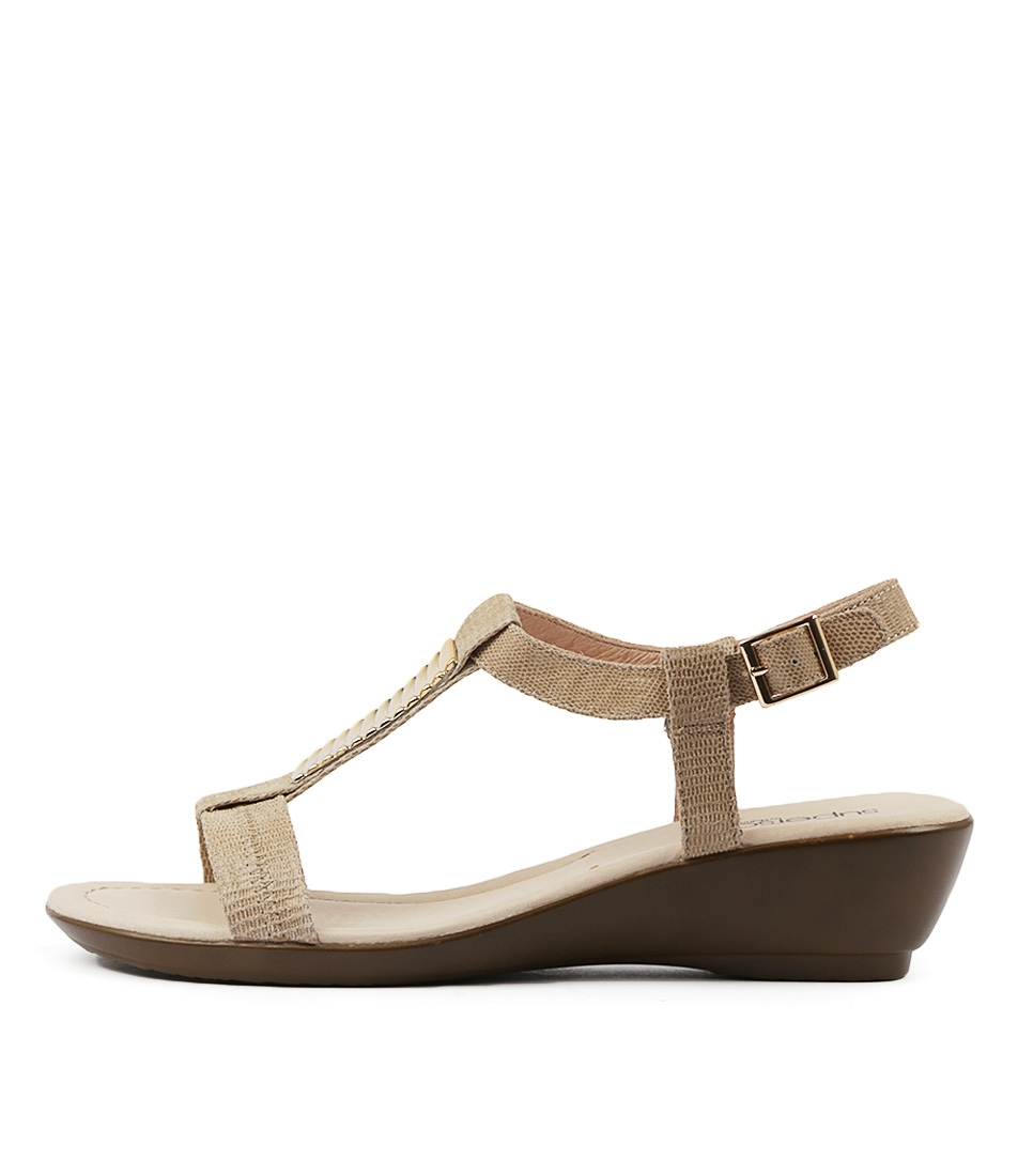 2f42a65d2df2 PAVIA FAWN EMB LEATHER by SUPERSOFT - at Williams