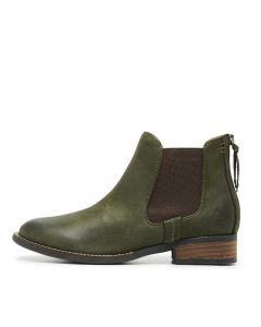 DANGEROUS OLIVE LEATHER