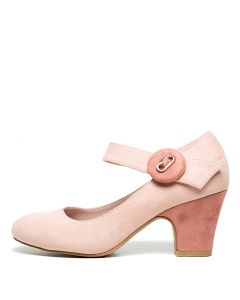 SINDA BLUSH ROSE MICROSUEDE