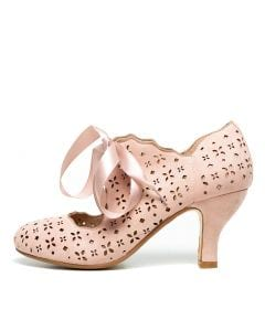 MINNA BLUSH MICROSUEDE