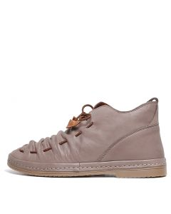 BERLIE IR TAUPE LEATHER