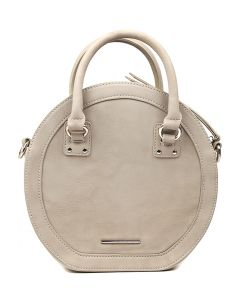 OLIVE CROSS BODY BAG GREY SMOOTH