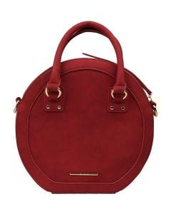 OLIVE CROSS BODY BAG BURGUNDY SMOOTH