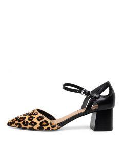 49eb330b0c41 DIANA FERRARI goody black-tan leopard