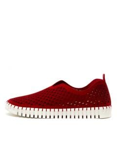 HELIN RED SUEDE PU