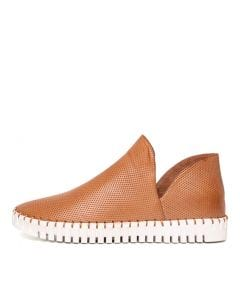 HILL TAN WHITE SOLE LEATHER