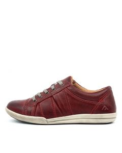 MIDTOWN BURGUNDY LEATHER