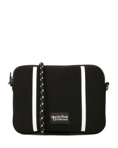 JORDYN CROSS BODY BAG BLACK NEOPRENE
