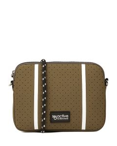 JORDYN CROSS BODY BAG KHAKI NEOPRENE