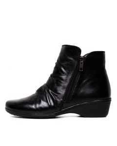 MIRACCA PP BLACK LEATHER