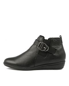 FYNN BLACK LEATHER