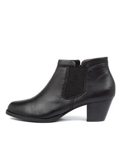 TIMBERLY BLACK LEATHER